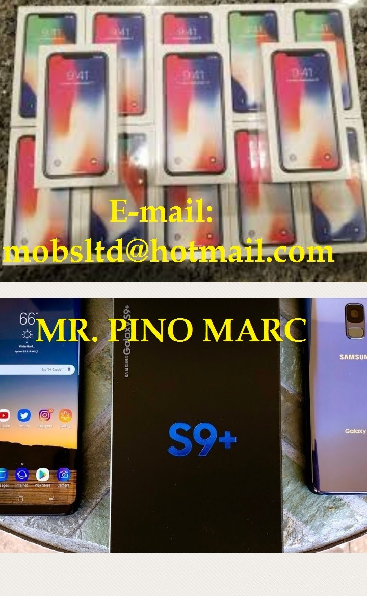 Stock Apple iPhone X 8 Plus 8/Samsung S9 S9 Plus N - Milano - mobsltd@hotmail.com