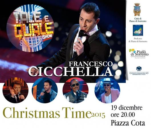 Weekend a Piano di Sorrento: dalla RAI Francesco Cicchella. Per i bambini Olaf di Frozen